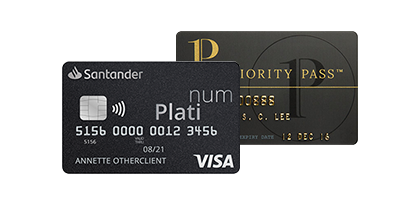 Visa Platinum i Priority Pass